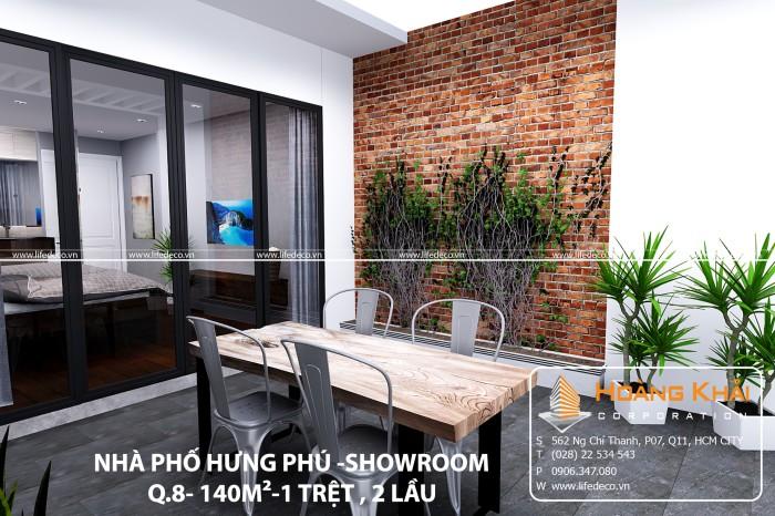NHÀ PHỐ - SHOWROOM HƯNG PHÚ-Q8